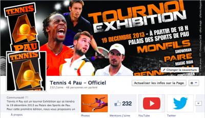 Tennis 4 Pau Medias Pack Agence de Publicité Pau