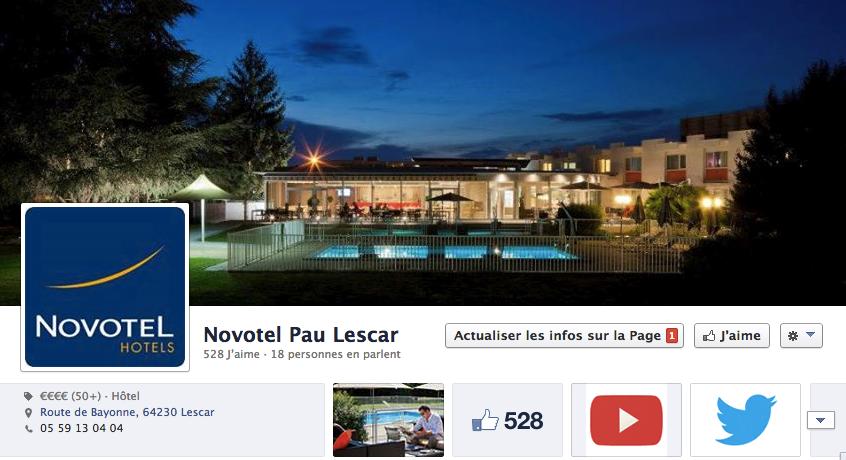 Novotel Pau Lescar Medias Pack agence de communication Pau