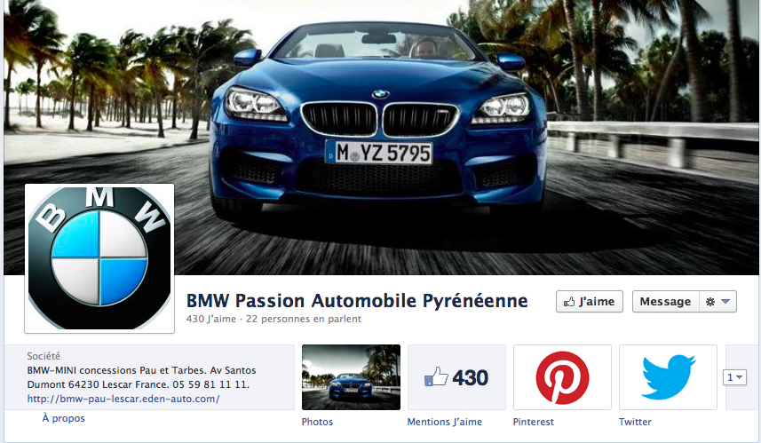 facebook BMW Passion Automobile