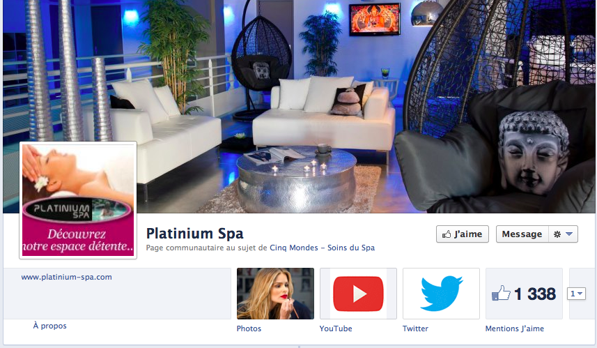 facebook Platinium spa