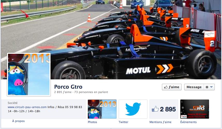 facebook Porco GTRO