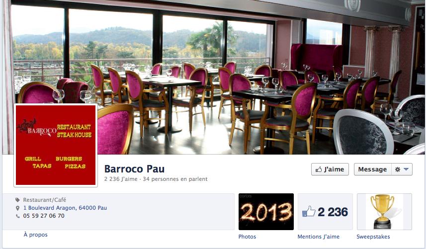 facebook barroco