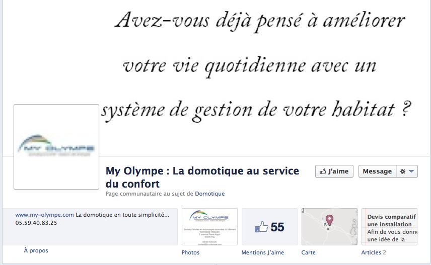 facebook myolympe